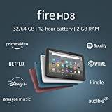 Fire HD 8 tablet, 8' HD display, 32 GB, latest model...